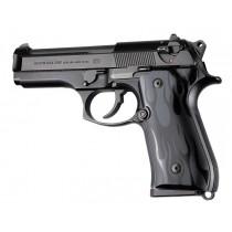 Beretta 92FS Flames Aluminum - Black Anodize