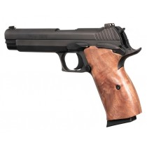 SIG P210 American: Smooth Hardwood Grip - Walnut
