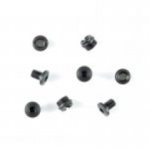Thin Grip 1911 Govt. and Officers Model Hex Head Screws (4) and Bushings (4) - Black