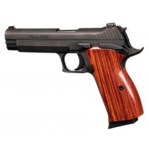 SIG P210 American: Smooth Hardwood Grip - Coco Bolo