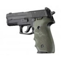 SIG Sauer P228/P229 Rubber with Finger Grooves OD Green