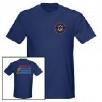 Hogue Grips T-Shirt Medium Blue