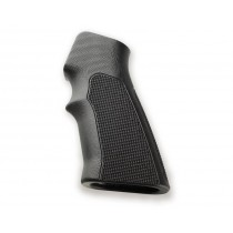 AR15 / M16 Checkered G10 - Solid Black