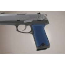 Ruger P94 Checkered Aluminum - Matte Blue Anodize