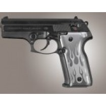 Beretta Cougar 8045 Flames Aluminum - Clear Anodize