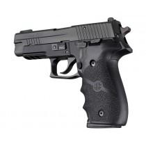 SIG SAUER P226 Rubber W/ Finger Grooves Black