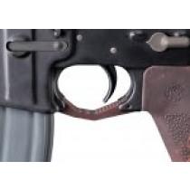 AR-15/M-16 Contour Trigger Guard G10 - G-Mascus Red Lava