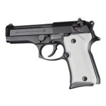 Beretta 92 Compact Aluminum - Matte Clear Anodize