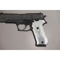 SIG Sauer P220 DA/SA American Flames Aluminum - Clear Anodize