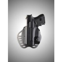 ARS Stage 1 - Carry Glock 26, 27, 28, 33, 39 Left Hand Holster Black