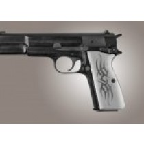Browning Hi-Power Tribal Aluminum - Clear Anodized