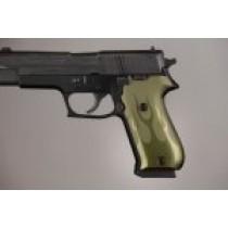 SIG Sauer P220 American Flames Aluminum - Green Anodize
