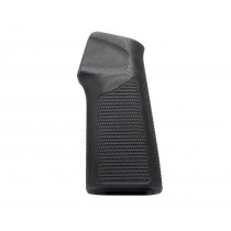 AR15 / M16 15 Degree Vertical No Finger Groove Piranha Grip G10 - Solid Black