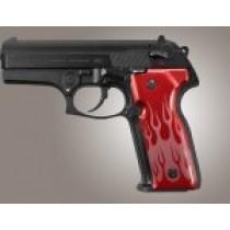 Beretta Cougar 8000 - 8040 - 8357 Flames Aluminum - Red Anodize