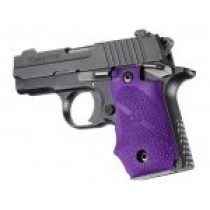 SIG Sauer P238 Rubber Grip with Finger Grooves Purple