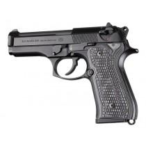 Beretta 92FS Piranha Grip G10 - G-Mascus Black/Gray