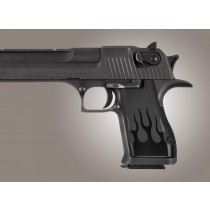 Desert Eagle Flames Aluminum - Black Anodized
