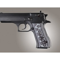 Baby Eagle .40 / 9mm Jericho & Uzi Eagle G10 - G-Mascus Black/Gray
