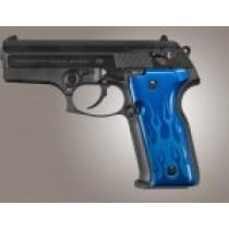 Beretta Cougar 8045 Flames Aluminum - Blue Anodize