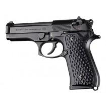 Beretta 92FS Chain Link G10 - Solid Black