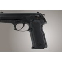 Beretta Cougar 8045 Checkered Aluminum - Matte Black Anodize