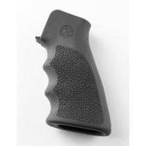 AR-15 / M16: OverMolded Rubber Grip with Finger Grooves - Slate Grey