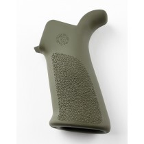 AR-15 / M-16: OverMolded Rubber Beavertail Grip - OD Green
