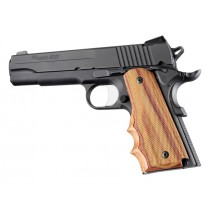 1911 Govt. Model Tulipwood With Finger Grooves Checkered