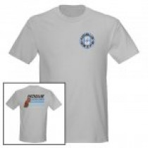 Hogue Grips T-Shirt Medium Grey