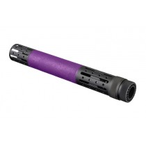 AR-15 / M16: (Extended Length) OverMolded Free Float Forend with Accessory Attachments - Purple