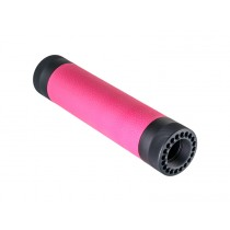 AR-15/M-16 (Mid Length) Free Float Forend with OverMolded Gripping area Pink