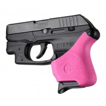 Handall Hybrid Ruger LCP Crimson Trace Button Grip Sleeve Pink