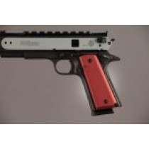 1911 Govt. Model 9/32 Thick Aluminum - Matte Red Anodized