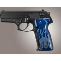 Beretta Cougar 8000 - 8040 - 8357 Flames Aluminum - Blue Anodize