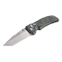 "EX-01 4"" Folder Tanto Blade Tumble Finish G-10 Frame - G-Mascus Green"