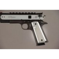 1911 Govt. Model 9/32 Thick Aluminum - Brushed Gloss Clear Anodized