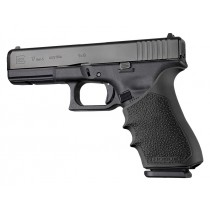 HandAll Beavertail Grip Sleeve Glock 17, G17L, G19X, G34, G34 MOS Gen 1-2-5 Black