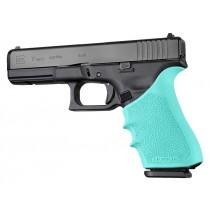 HandAll Beavertail Grip Sleeve Glock 17, G17L, G19X, G34, G34 MOS Gen 1-2-5 Aqua