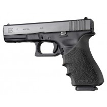 GLOCK 17, 18, 20, 21, 22, 24, 31, 34, 35, 37, 40, 41 (Gen 3-4): HandALL Beavertail Grip Sleeve - Black