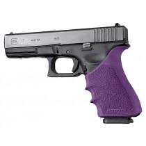 GLOCK 17, 18, 20, 21, 22, 24, 31, 34, 35, 37, 40, 41 (Gen 3-4): HandALL Beavertail Grip Sleeve - Purple