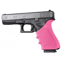 GLOCK 17, 18, 20, 21, 22, 24, 31, 34, 35, 37, 40, 41 (Gen 3-4): HandALL Beavertail Grip Sleeve - Pink