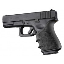 GLOCK 19, 23, 32, 38 (Gen 3-4): HandALL Beavertail Grip Sleeve - Black