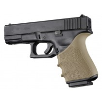 GLOCK 19, 23, 32, 38 (Gen 3-4): HandALL Beavertail Grip Sleeve - FDE