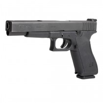 Glock 17, 17L, 18, 22, 24, 31 (Gen 1-2) Wrapter Adhesive Grip - Black Rubber