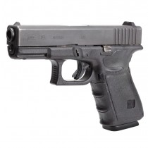 GLOCK 17, 17L, 18, 22, 24, 31, 34, 35, 37 (Gen 3): Wrapter Adhesive Grip - Black Rubber