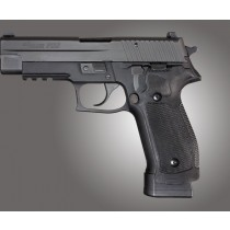 SIG Sauer P226 DA/SA Magrip Checkered G10 - Solid Black