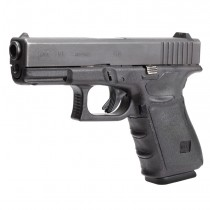 GLOCK 17, 17MOS, 22, 31, 34, 34MOS, 35, 35MOS (Gen 4): Wrapter Adhesive Grip - Black Rubber