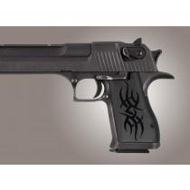 Desert Eagle Tribal Aluminum - Black Anodized