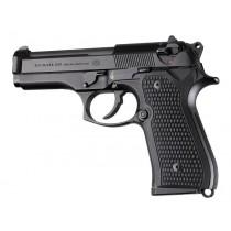 Beretta 92FS Piranha Grip G10 - Solid Black