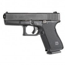 GLOCK 19, 23, 32 (Gen 1-2): Wrapter Adhesive Grip - Black Rubber
